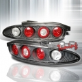 92-95 Mazda MX3 Euro Tail Lights - Carbon